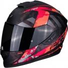 Moto přilba SCORPION EXO-1400 AIR SYLEX matná černo/červená