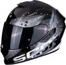 Moto přilba SCORPION EXO-1400 AIR CLASSY černo/stříbrná