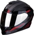 Moto přilba SCORPION EXO-1400 AIR FREE metal/černo/červená
