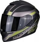 Moto přilba SCORPION EXO-1400 AIR FREE matná titan/černo/žlutá