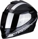 Moto přilba SCORPION EXO-1400 AIR FREE metal/černo/stříbrná