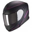 Moto přilba SCORPION EXO-920 FLUX matná černo/růžová