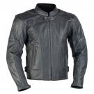 LARROS - kožená bunda na motorku s perforováním