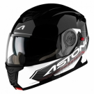 Moto přilba ASTONE RT1200 TOURING černo/bílá