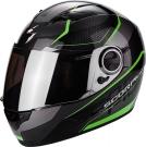 Moto přilba SCORPION EXO-490 VISION černo/zelená