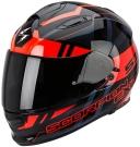 Moto přilba SCORPION EXO-510 AIR STAGE černo/červená