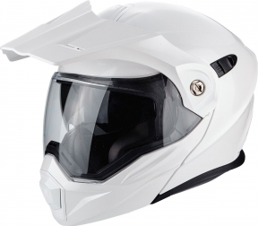 Moto přilba SCORPION ADX-1 pearl bílá
