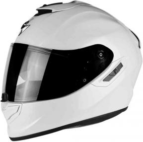 Moto přilba SCORPION EXO-1400 solid bílá