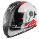 Moto přilba ASTONE RT1200 VANGUARD bílo/černo/červená