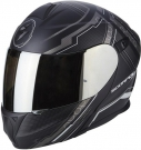 Moto přilba SCORPION EXO-920 SATELLITE matná černo/stříbrná