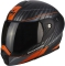 Moto přilba SCORPION ADX-1 DUAL matná černo/stříbrno/oranžová