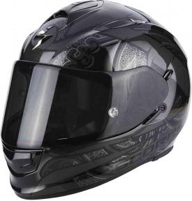 Moto přilba SCORPION EXO-510 AIR ARABESC černá